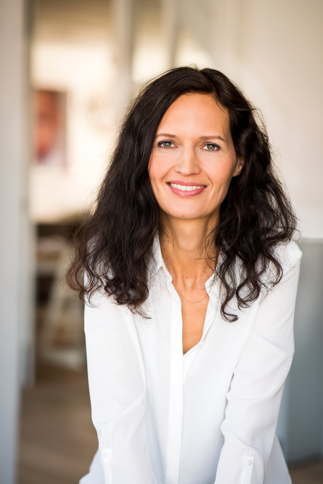 Saschinka Tillner-Schmiddem the inventor of Wunderblau